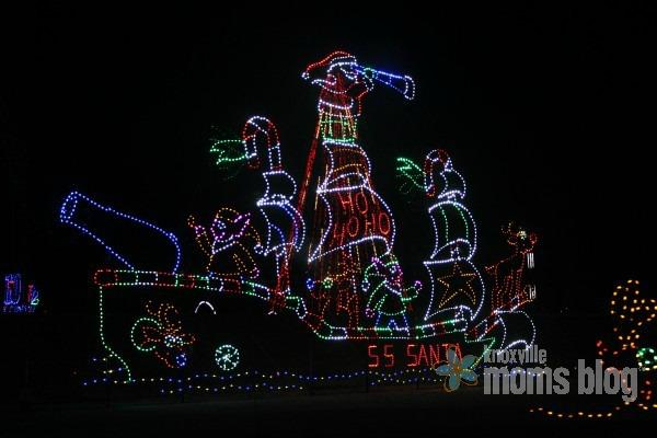 boat christmas lights