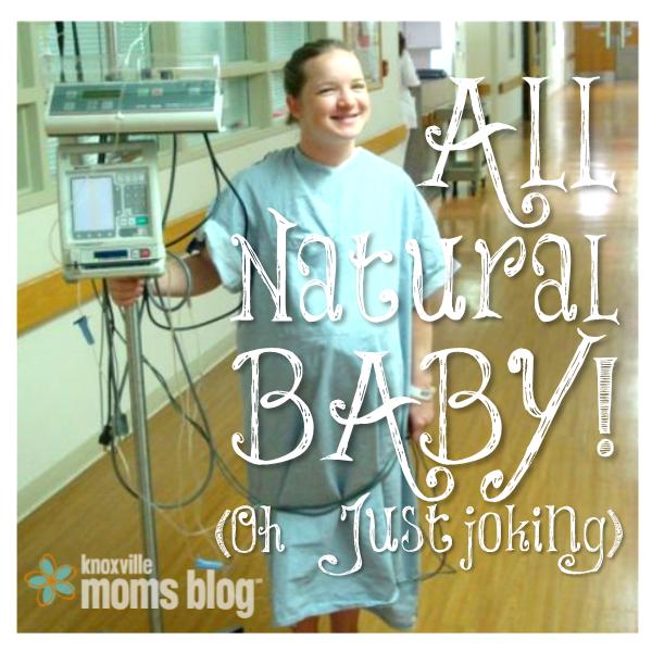 Penelope's Wanna-be Natural Birth Story