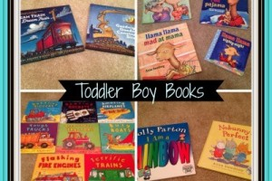 Toddler Boy Books