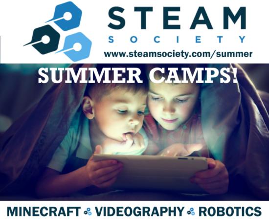 STEAM Society Summer Camp Ad2