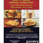Knoxville's Fourth Zaxby's Grand Opening on June 30th! {Giveaway}