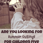 Summer Fun for Kids Five and Under