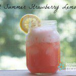 Sweet Summer Strawberry Lemonade
