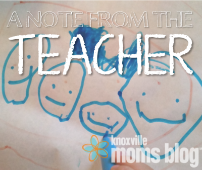 A Note from the Teacher2