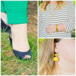 Green with Envy – One Great Pair of Skinnies Styled Four Ways {Guest Blogger}