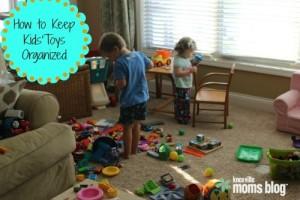 Keeping Toys Organized
