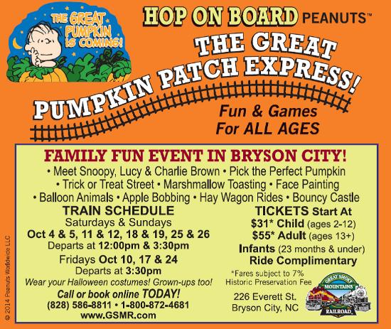 The Great Pumpkin Patch Express