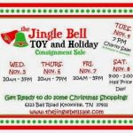 Jingle Bell Toy and Holiday Sale November 4th-8th! {Giveaway}