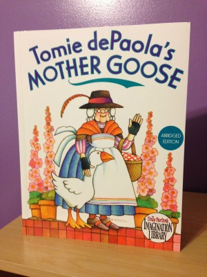 Mother Goose rhymes and lullabies are great options for toddlers as they begin to recognize and enjoy rhyme and rhythm.