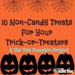 10 Non-Candy Treats for Your Trick-or-Treaters & Join the Teal Pumpkin Project