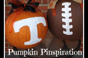Pumpkin Decorating with Paint