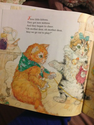 Three Little Kittens by Jerry Pinkney offers a look into the story of mischievous kittens.