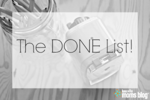 the done list black and white