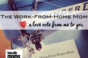 work from home with title