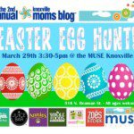 Knoxville Moms Blog 2nd Annual Easter Egg Hunt at The Muse Knoxville