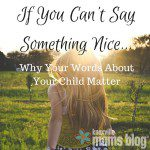 If You Can't Say Something Nice…