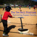 Tee Ball Diaries: Surviving Summer Sports