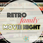 Retro Family Movie Night