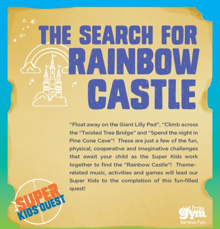 rainbow castle