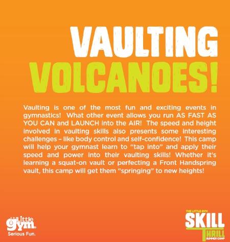 vaulting volcano