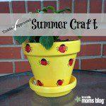 Toddler Approved Summer Craft