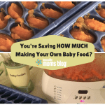 You're Saving HOW MUCH Making Your Own Baby Food?