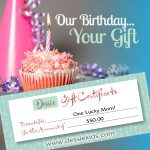 Happy Birthday Dessie Kids and a Chance for You to Win a $50 Gift Certificate! {Giveaway}