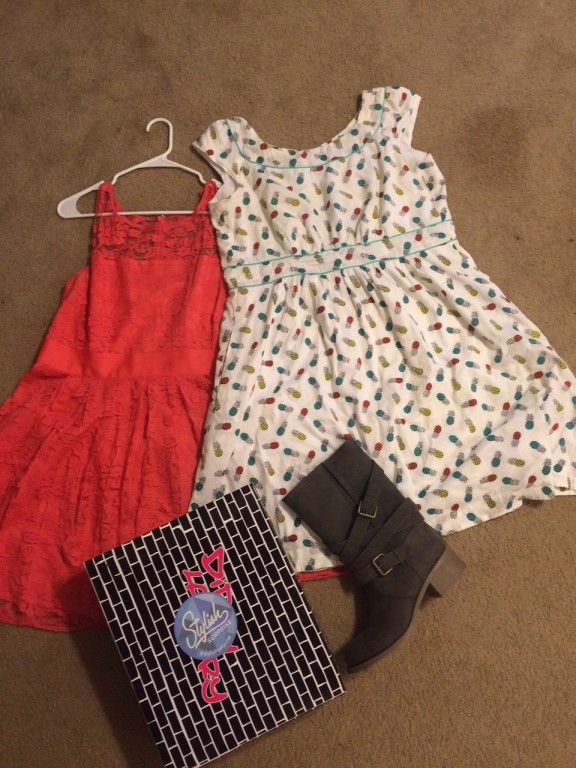 My last Modcloth Stylish Surprise haul (all items are combined retail of $260, total $ actually spent was $50)