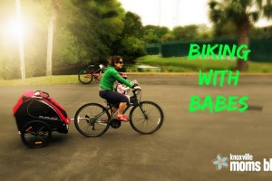 biking with babes