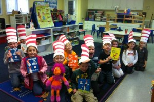 Cat in the Hat at Tate's School