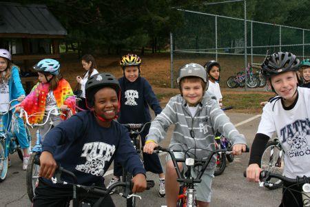 Tate's School Bicycle Week
