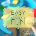 Easy Peasy Sensory Fun!