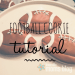 Football Cookie Tutorial