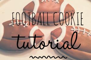 Football Cookie Tutorial