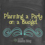 Planning a Party on a Budget