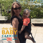 The NEW and Improved Baby Bjorn: Baby Carrier One {Giveaway}