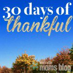30 Days of Thankful