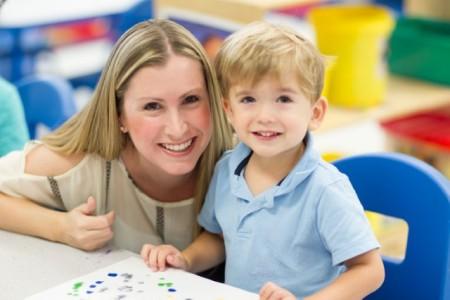 Preschool - Boy and Mother_jpg