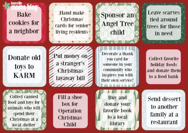 12 days of seasonal service ideas for families - 12 Days Of Christmas For Neighbors