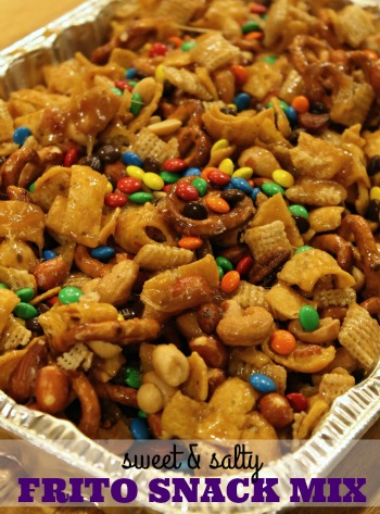 Sweet and Salty Frito Snack Mix