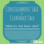 Consignment Sale vs. Clearance Sale