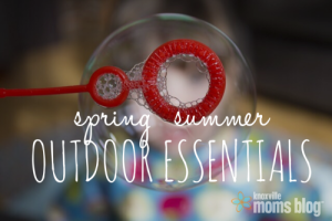Spring Summer Outdoor Essentials