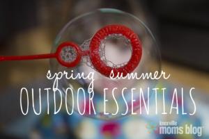 Spring Summer Outdoor Essentials