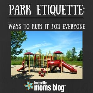 Park Etiquette_