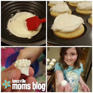 How to make Bunny Butt Cupcakes   Knoxville Moms Blog #Easter #dessert #cupcakes