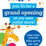 """Toys""""R""""Us Outlet Grand Opening at Tanger Sevierville on April 29th!"""