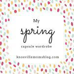 My Spring Capsule Wardrobe