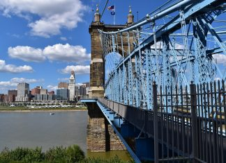 Family Road Trip from Knoxville to Cincinnati Ohio