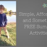 Simple, Affordable Summer Activites
