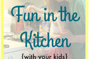Summer Fun in the Kitchen (with your kids) | Rainy day? No problem! Stop by to see some fun recipes to make with and for your kids #motherhood #recipes #food #summer